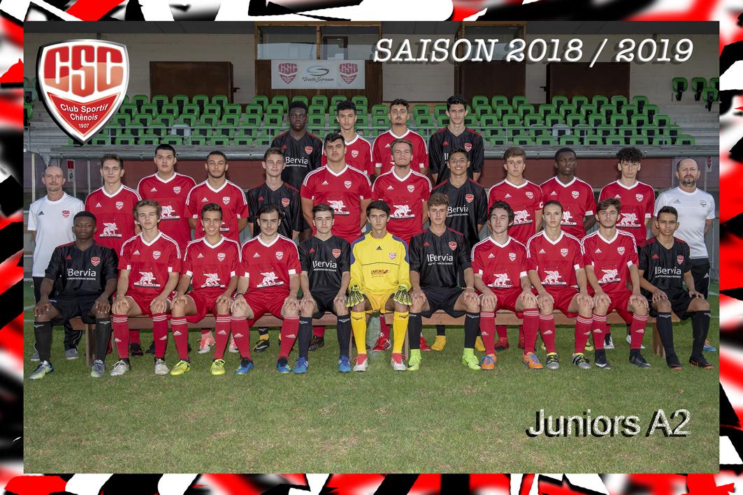 Juniors A2 - Club Sportif Chênois