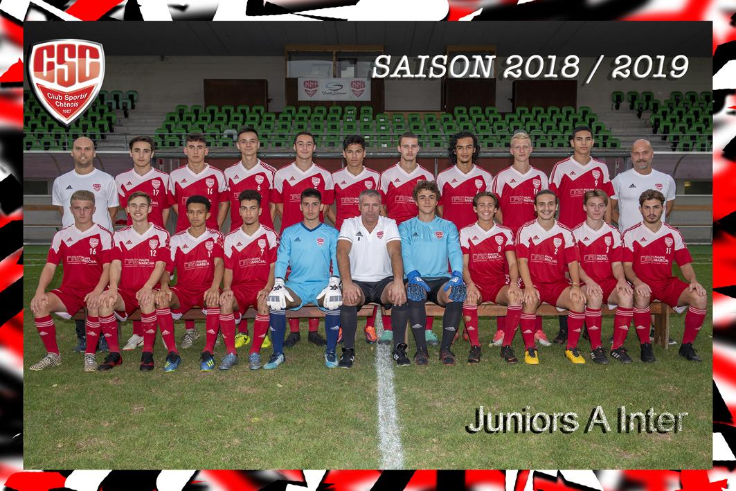 Juniors A Inter - Club Sportif Chênois