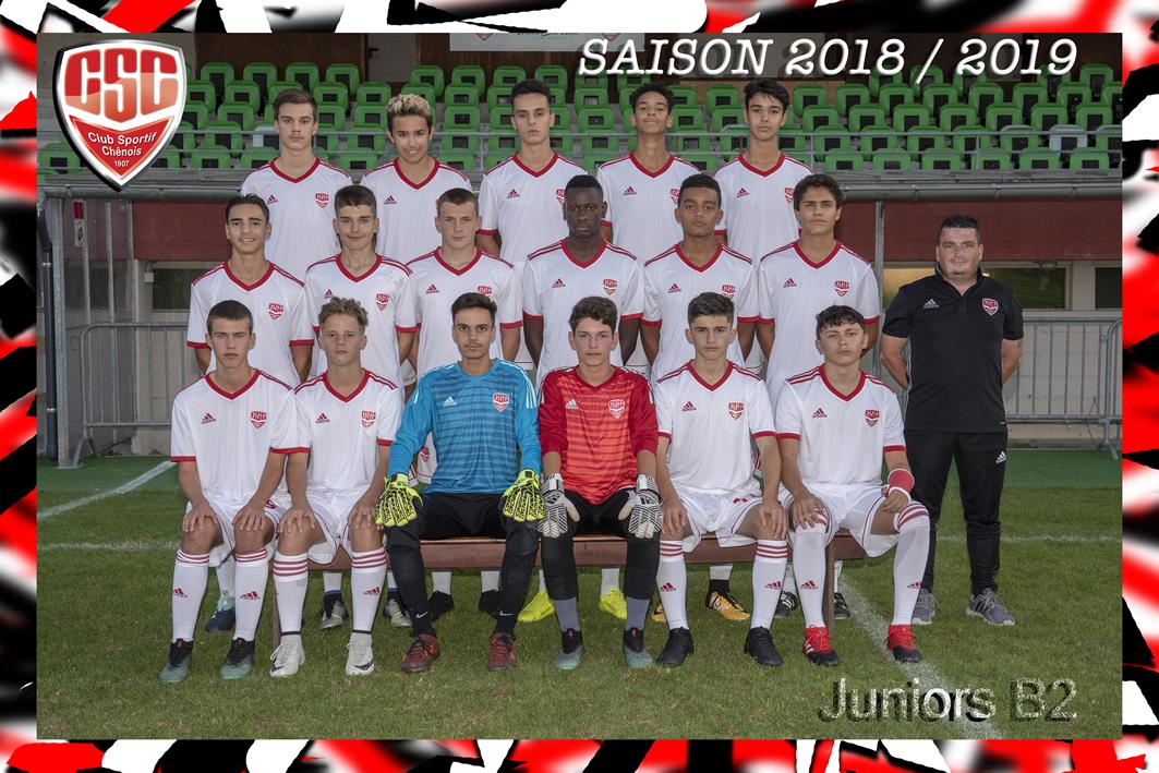 Juniors B2 - Club Sportif Chênois