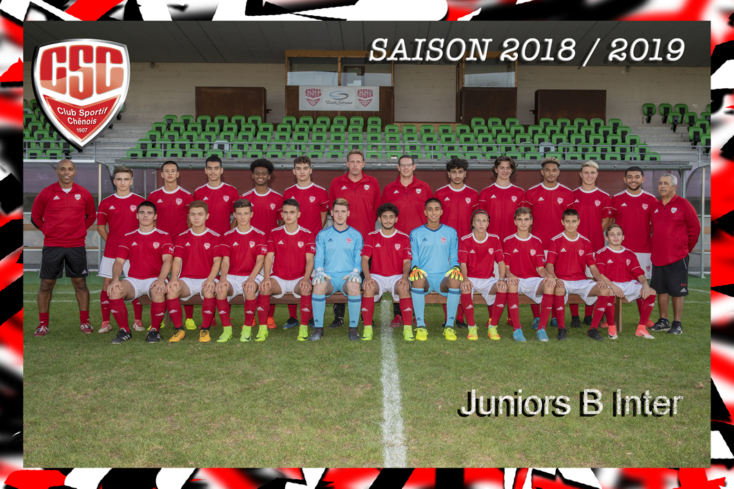 Juniors B Inter - Club Sportif Chênois
