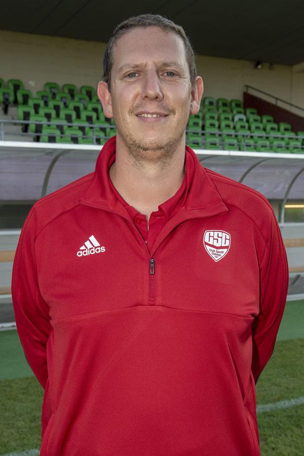 Frédéric GUENIAT - Juniors B Inter