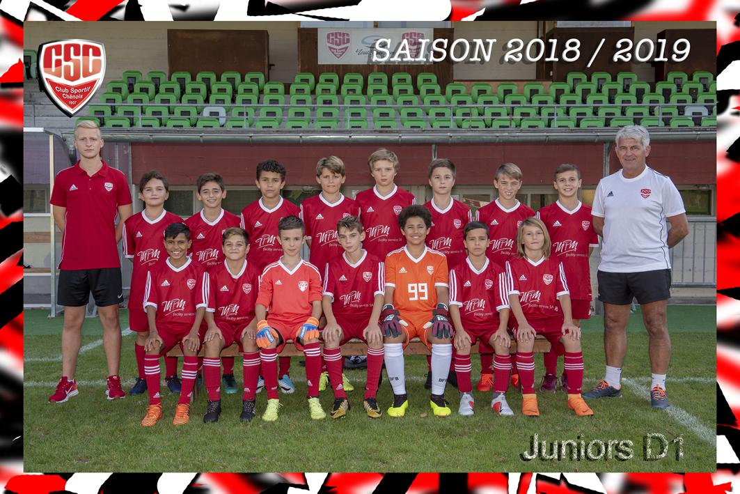 Juniors D1 - Club Sportif Chênois