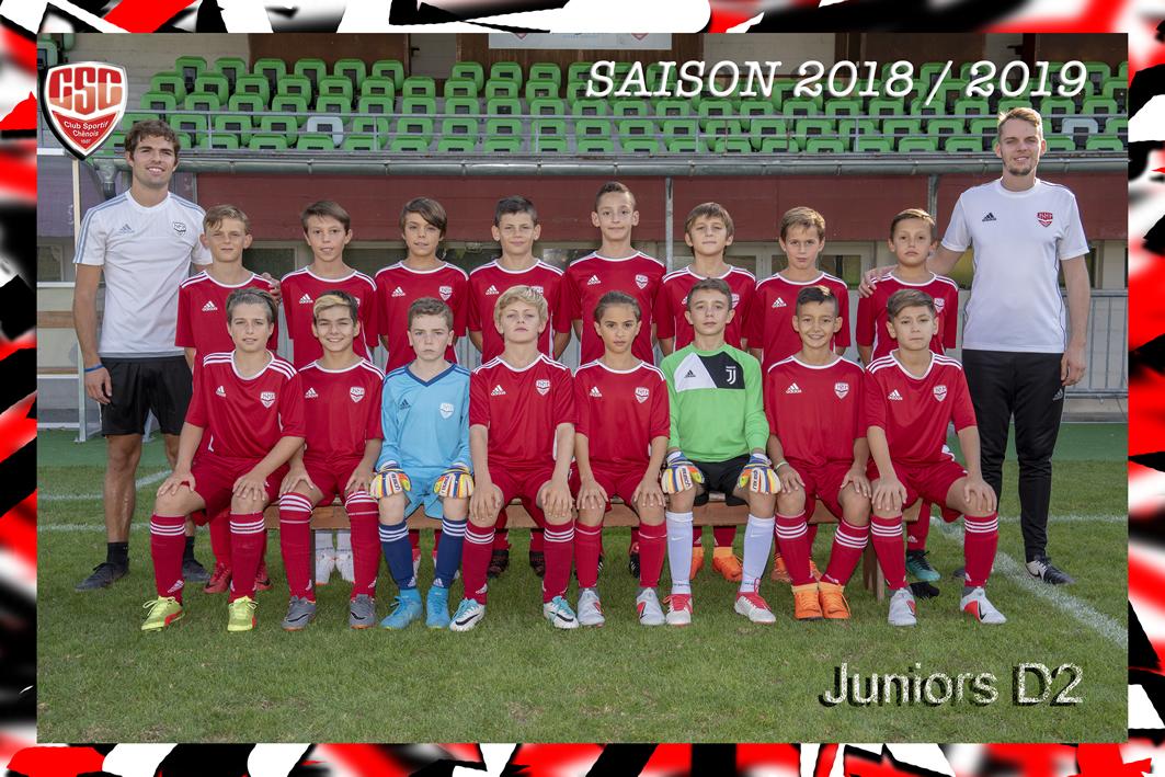 Juniors D2 - Club Sportif Chênois