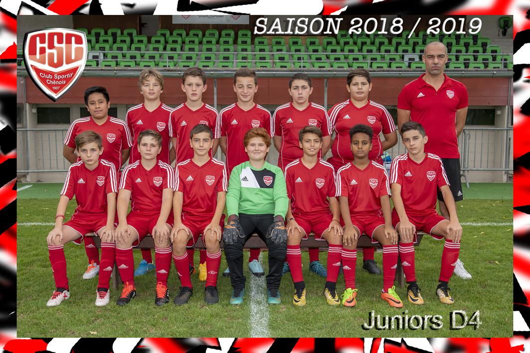 Juniors D4 - Club Sportif Chênois