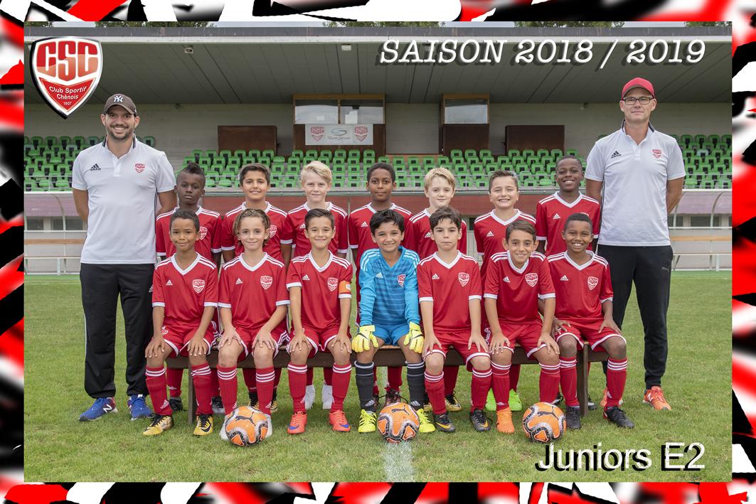 Juniors E2 - Club Sportif Chênois