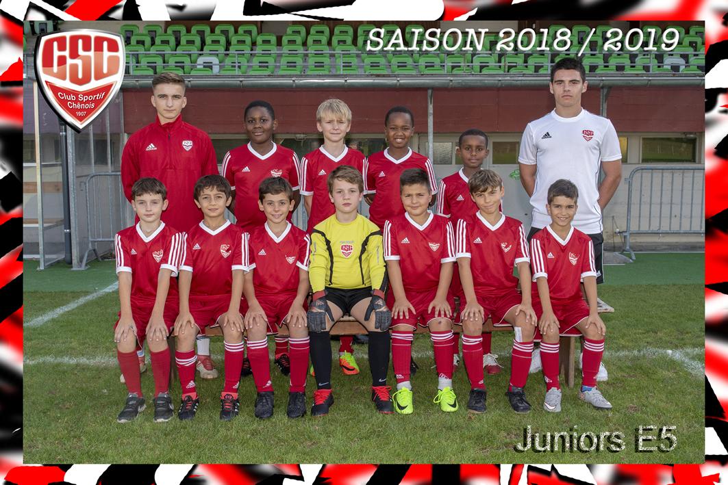 Juniors E5 - Club Sportif Chênois
