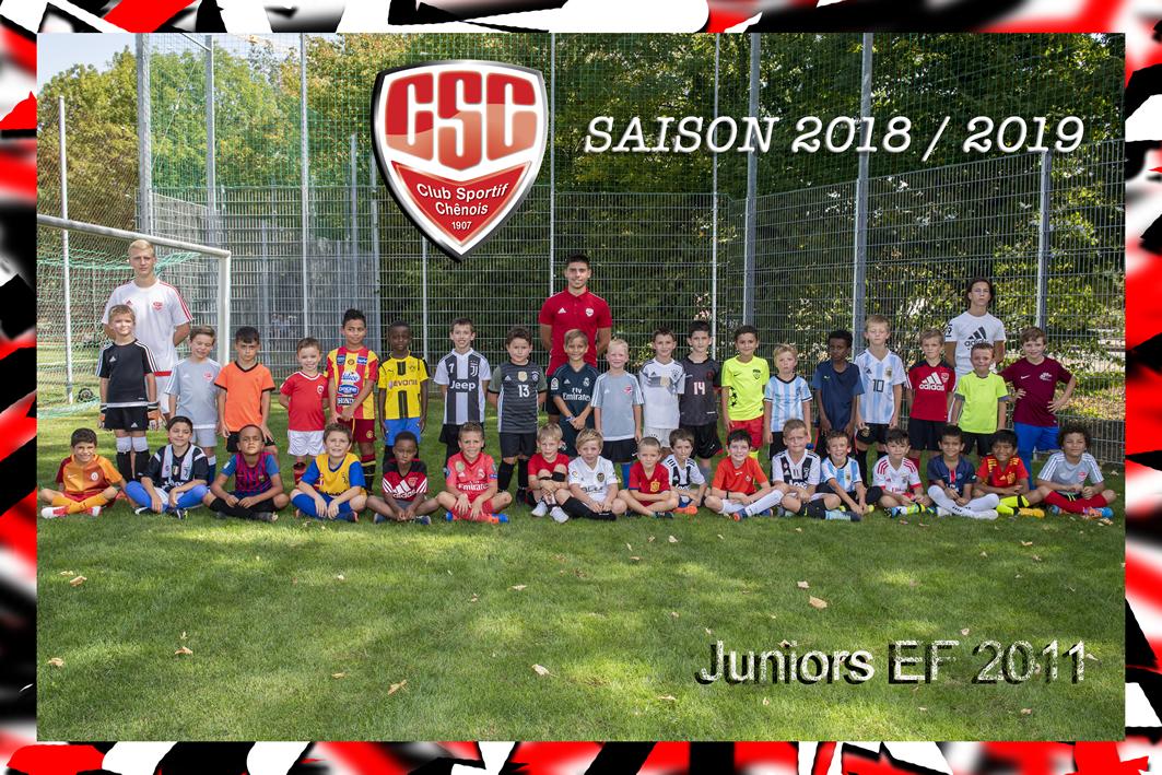 Juniors Ecole de football (EF 2011) - Club Sportif Chênois