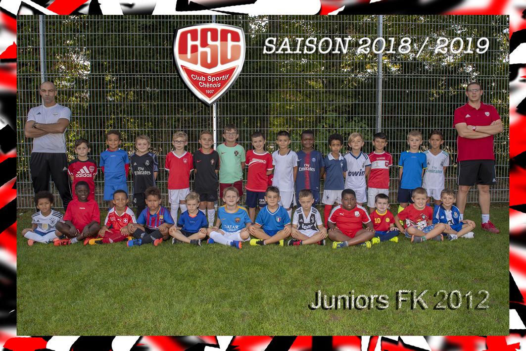Juniors FootKids - Club Sportif Chênois