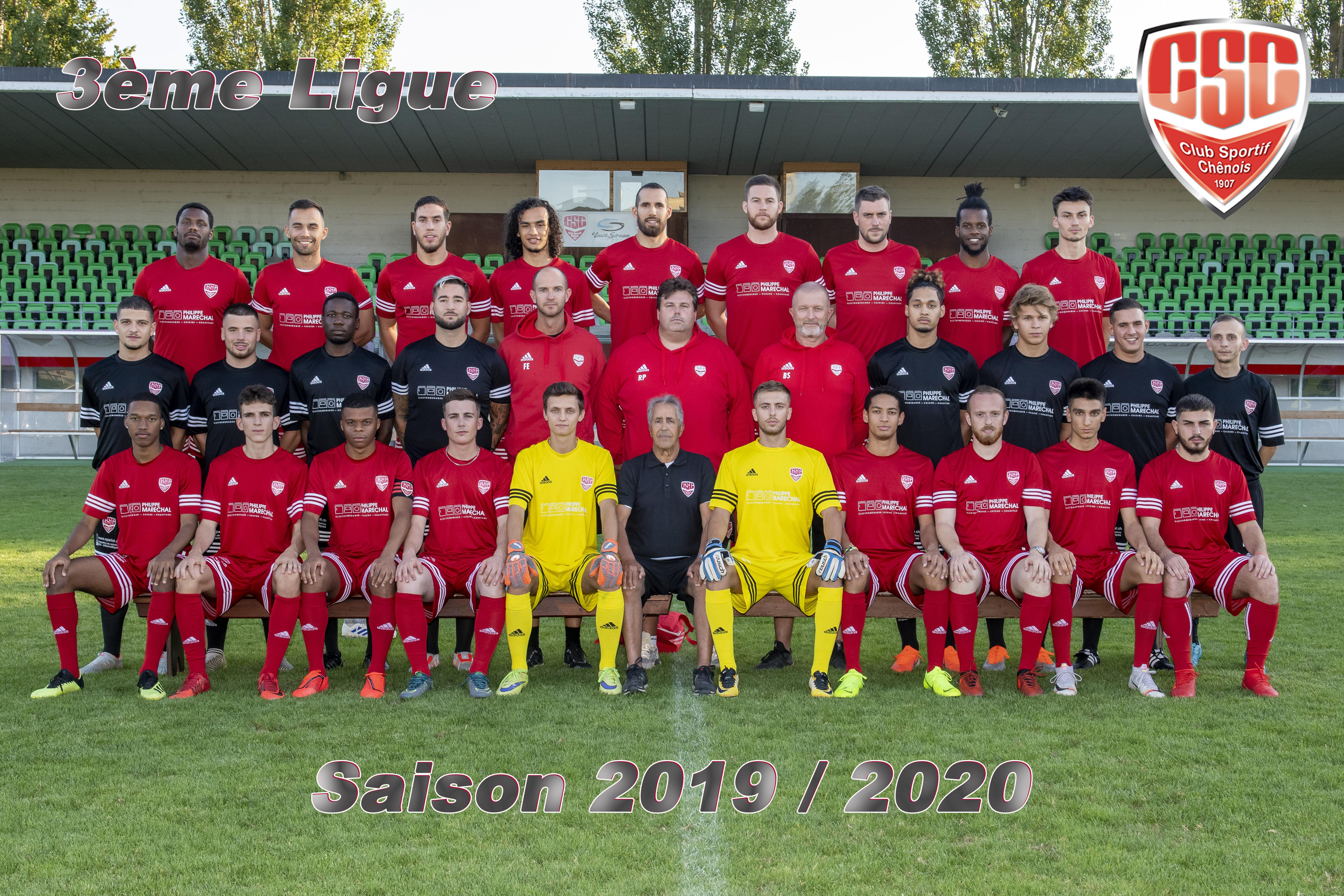 3ème Ligue - Club Sportif Chênois